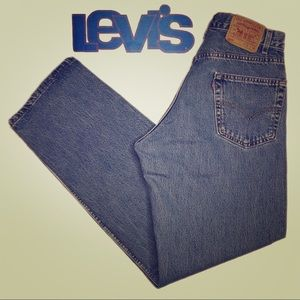 Vintage Levi's 569 Loose Straight Fit M Wash EUC